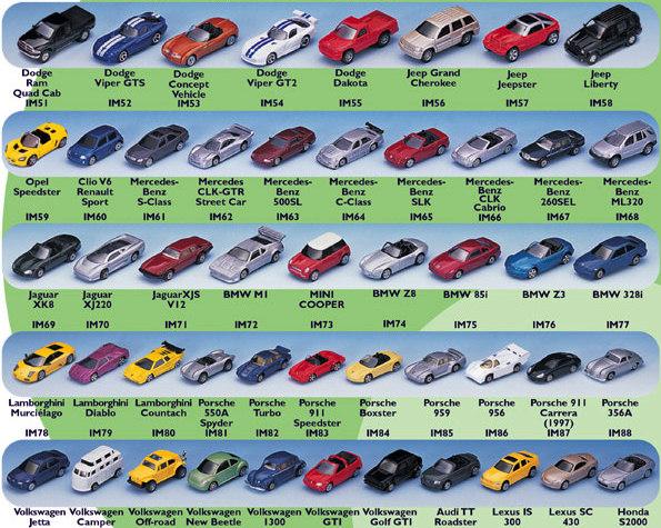 Diecast Cars 1/64